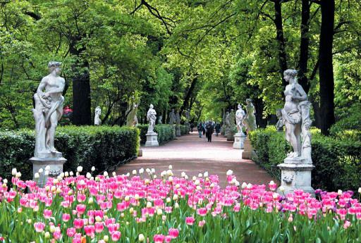 Information About Saint Petersburg Parks And Gardens Summer Garden