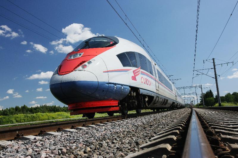 trein moskou
